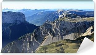 Vinyl Fotobehang Mont Aiguille