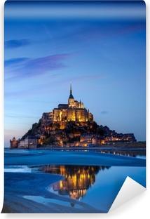 Vinyl Fotobehang Mont Saint Michel, Frankrijk