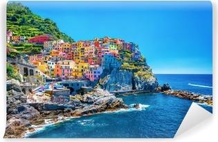Vinyl Fotobehang Mooie kleurrijke stad