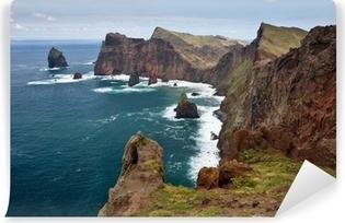 Vinyl Fotobehang Mooie kustlijn op het eiland Madeira, Portugal