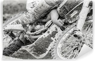 Vinyl Fotobehang Motocross