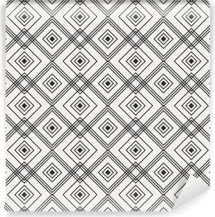 Vinyl Fotobehang Naadloze geometrische patroon