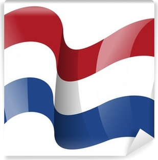 Vinyl Fotobehang Nederland vlag - Nederlandse vlag