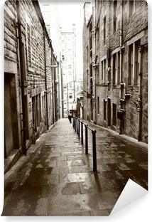 Vinyl Fotobehang Oude straten van Edinburgh