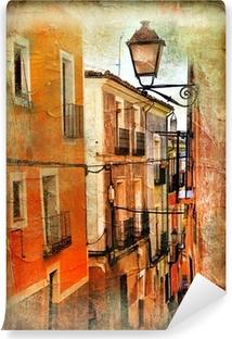 Vinyl Fotobehang Oude straten van Spanje - artistieke foto