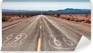 Vinyl Fotobehang Panorama Route 66