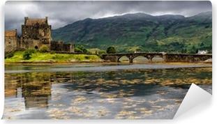 Vinyl Fotobehang Panoramisch van Eilean Donan Castle, Highlands, Schotland