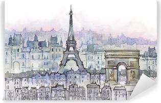 Vinyl Fotobehang Paris