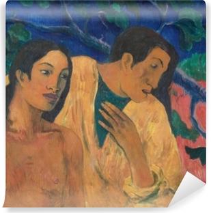 Vinyl Fotobehang Paul Gauguin - Vlucht