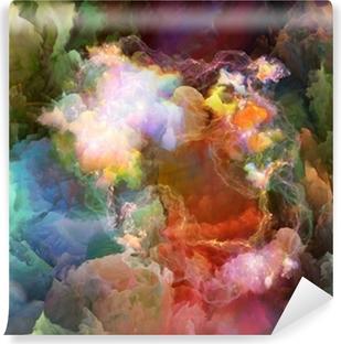 Vinyl Fotobehang Realiteit van Unreal