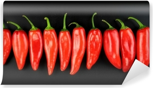 Vinyl Fotobehang Red hot chili peper