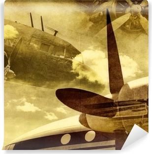 Vinyl Fotobehang Retro luchtvaart