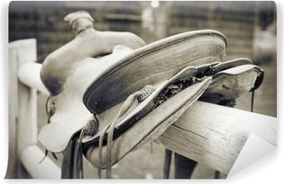 Vinyl Fotobehang Saddle