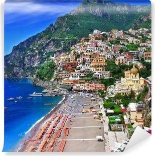 Vinyl Fotobehang Schilderachtige Italië - Positano