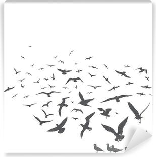 Vinyl Fotobehang Seagulls