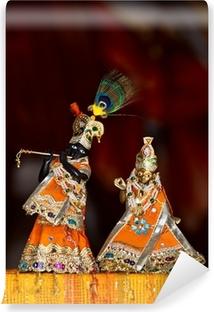 Vinyl Fotobehang Shri Shri Radha Krishna