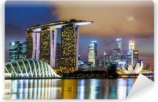 Vinyl Fotobehang Singapore skyline