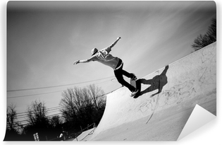 Vinyl Fotobehang Skateboard Ramp