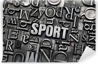 Vinyl Fotobehang Sport