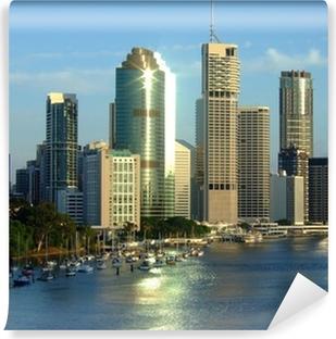 Vinyl Fotobehang Stad van Brisbane