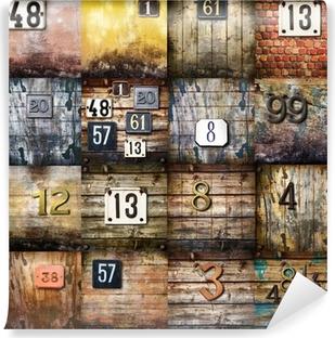Vinyl Fotobehang Stedelijke kunst collage