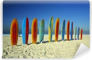 Vinyl Fotobehang Surfboards