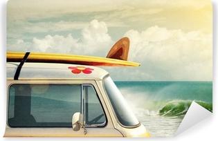 Vinyl Fotobehang Surfen Way of Life