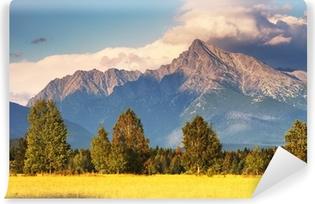 Vinyl Fotobehang Symbool van Canada - Mount Krivan