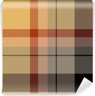 Vinyl Fotobehang Tartan Schotse plaid materiaal patroon textuur ontwerp