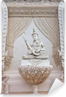 Vinyl Fotobehang Thaise engel standbeeld