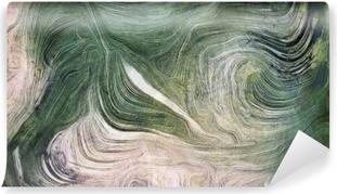 Vinyl Fotobehang Tinten groen