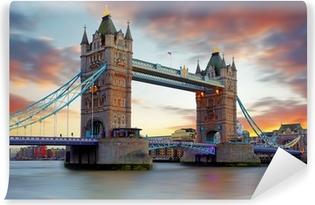 Vinyl Fotobehang Tower Bridge in Londen, UK