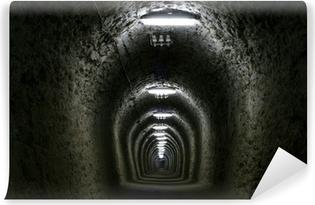 Vinyl Fotobehang Tunnel van het leven