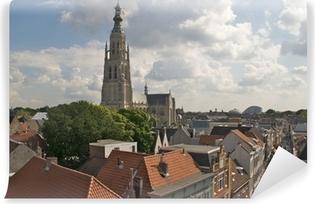 Vinyl Fotobehang Uitzicht over Breda