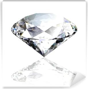 Vinyl Fotobehang Vector zwarte diamant