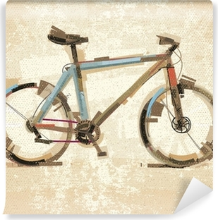 Vinyl Fotobehang Vintage fiets