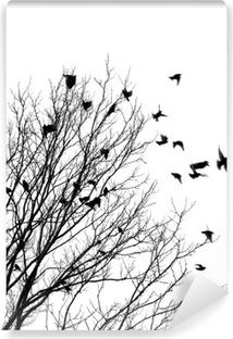 Vinyl Fotobehang Vliegende vogels