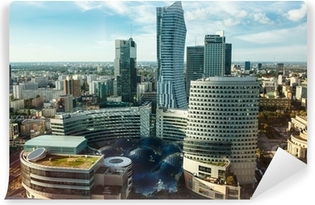 Vinyl Fotobehang Warsaw view