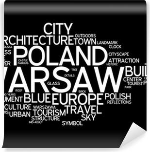 Vinyl Fotobehang Warsaw