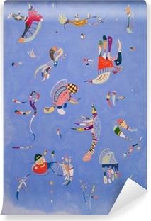 Vinyl Fotobehang Wassily Kandinsky - Hemelsblauw