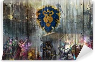 Vinyl Fotobehang World of Warcraft