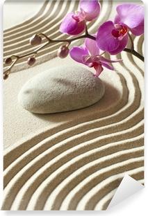 Vinyl Fotobehang Zen oosterse bloem