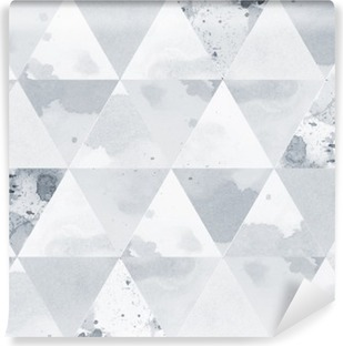 Vinyl Fotobehang Zwart-wit Patroon