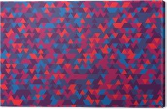 Abstrakt baggrund af trekanterne. Graden af violet. Violette nuancer. Fotolærred