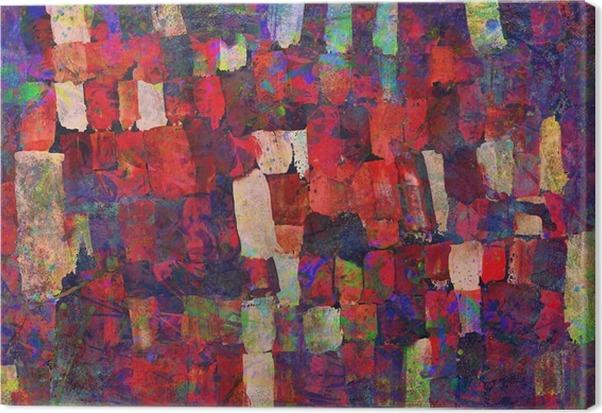 Abstrakt kunst maleri Fotolærred - Hobby og Underhodning