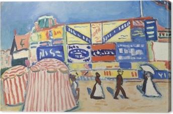 Albert Marquet - Trouville'deki Posterler Fotolærred