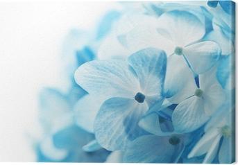 Blomster baggrund Fotolærred