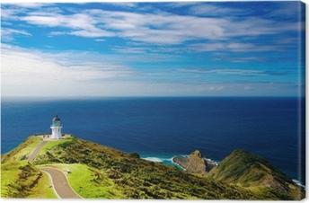 Cape Reinga Fyrtårn, New Zealand Fotolærred