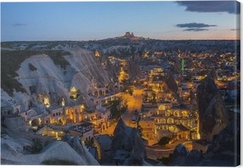 Cappadociens landskab, Tyrkiet Fotolærred