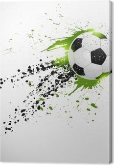Fodbold design Fotolærred